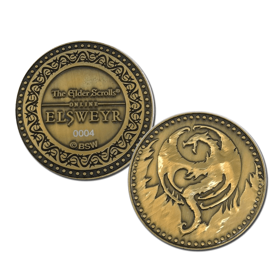The Elder Scrolls Online Collectible Coin